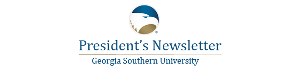 president's newsletter header